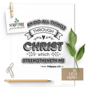 Phillipians 4:13 I can do all things through Christ