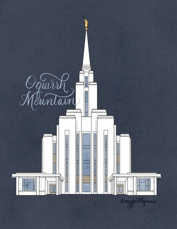 Oquirrh Mountain Coloring Page Sample
