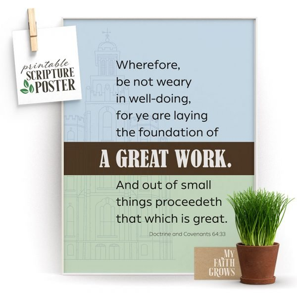 A Great Work Poster Preview